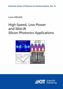 High-Speed, Low-Power and Mid-IR Silicon Photonics Applications
