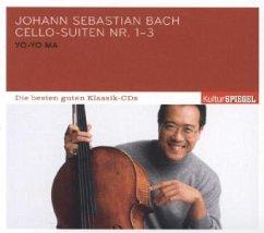 Kulturspiegel: Die Besten Guten-Cello Suiten 1-3 - Ma,Yo-Yo