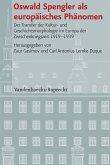 Oswald Spengler als europäisches Phänomen (eBook, PDF)