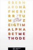 Irrtum zeigt im Alphabet Methode