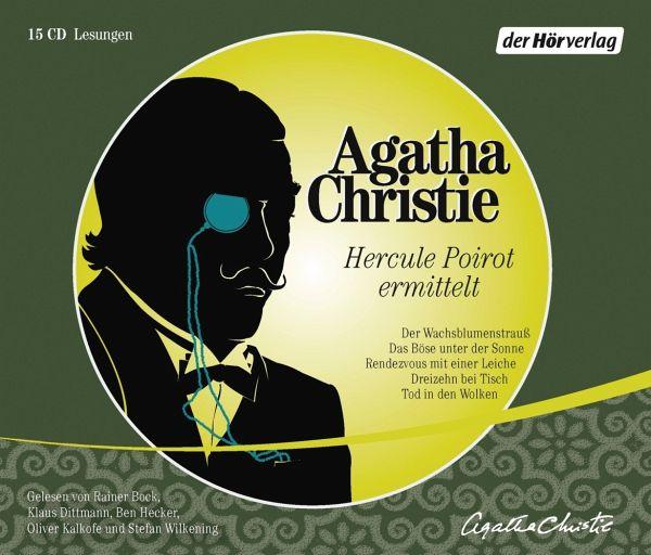 Hercule Poirot ermittelt, 15 Audio CDs