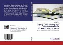 Query Focused Language Independent Multi-document Summarization - Bhaskar, Pinaki