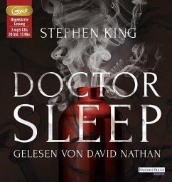 Doctor Sleep, 3 MP3-CD - King, Stephen