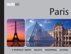 InsideOut: Paris Travel Guide - Maps, Popout