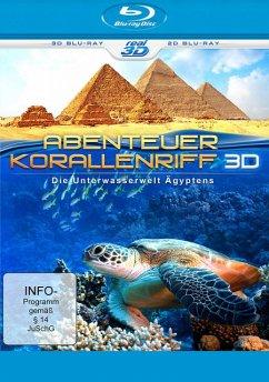 Abenteuer Korallenriff 3D - Die Unterwasserwelt Ägyptens (Blu-ray 3D+2D) - N/A