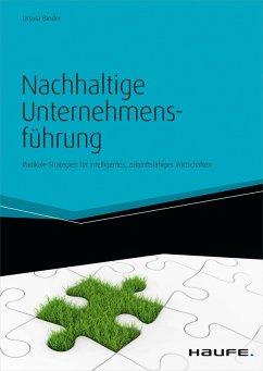 Nachhaltige Unternehmensführung (eBook, PDF) - Binder, Ursula