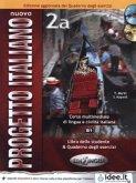Libro dello studente & Quaderno degli esercizi, m. CD-ROM und Audio-CD / Nuovo Progetto italiano Vol.2A