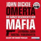 Omertà. Die ganze Geschichte der Mafia (MP3-Download)