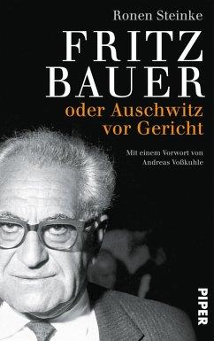 Fritz Bauer (eBook, ePUB) - Steinke, Ronen