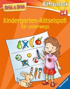 Kindergarten-Rätselspaß für unterwegs - Lohr, Stefan