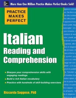 Italian Reading and Comprehension - Saggese, Riccarda