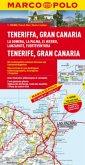 Marco Polo Karte Teneriffa, Gran Canaria; Tenerife, Gran Canaria