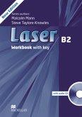 Workbook w. Audio-CD and Key / Laser B2, New Edition
