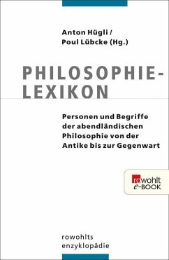 Philosophielexikon (eBook, ePUB)
