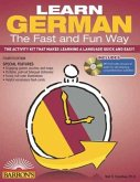 Learn German the Fast and Fun Way with MP3 CD [With German-English and MP3]