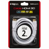 HDMI Kabel 1.4 für Ultra High Definition (2160p) and 3D (ca. 2 m - weiß)