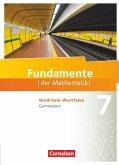 Fundamente der Mathematik 7. Schuljahr. Schülerbuch Gymnasium Nordrhein-Westfalen