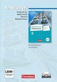 Schlüssel zur Mathematik 8. Schuljahr. Arbeitsheft mit eingelegten Lösungen und CD-ROM. Differenzierende Ausgabe Niedersachsen
