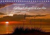 Immerwährender Geburtstagskalender - Beautiful Sunsets (Tischkalender immerwährend DIN A5 quer)