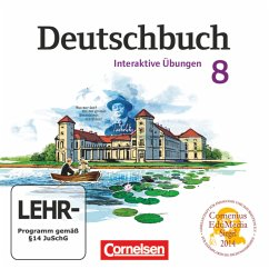 8. Schuljahr, Interaktive Übungen, CD-ROM / Deu...