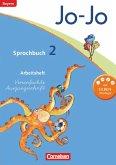 Jo-Jo Sprachbuch - Grundschule Bayern. 2. Jahrgangsstufe - Arbeitsheft in Vereinfachter Ausgangsschrift