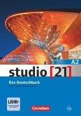 studio [21] - Grundstufe A2: Gesamtband. Das Deutschbuch (Kurs- und Übungsbuch mit DVD-ROM)