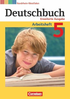 Deutschbuch 5. Schuljahr. Arbeitsheft mit Lösun...
