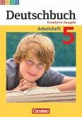 Deutschbuch 5. Schuljahr. Arbeitsheft mit Lösungen