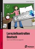 Lernzielkontrollen Deutsch 5./6. Klasse (eBook, PDF)
