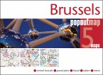 Brussels PopOut Map, 5 maps
