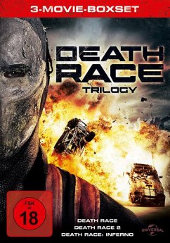 Death Race Trilogy DVD-Box - Jason Statham,Joan Allen,Tyrese Gibson