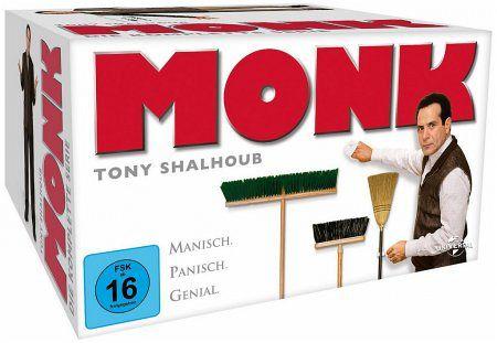 Monk - Die komplette Serie (32 Discs) - Tony Shalhoub,Bitty Schram,Traylor Howard