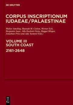 Corpus Inscriptionum Iudaeae/Palaestinae 3