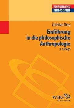 Einführung in die philosophische Anthropologie (eBook, ePUB) - Thies, Christian