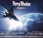Artekhs vergessene Kinder / Rhodans Weg / Perry Rhodan - Neo Bd.49+50 (2 MP3-CDs)
