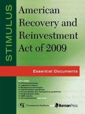 Stimulus: American Recovery and Reinvestment Act of 2009 (eBook, ePUB)
