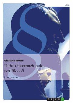 Diritto internazionale per filosofi