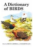 A Dictionary of Birds (eBook, ePUB)