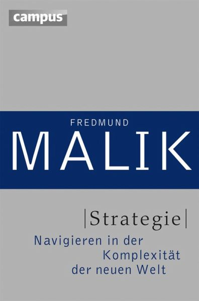 Strategie (eBook, PDF) - Malik, Fredmund
