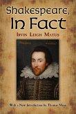 Shakespeare, In Fact (eBook, ePUB)