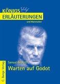 Warten auf Godot - Waiting for Godot von Samuel Beckett. Textanalyse und Interpretation. (eBook, PDF)