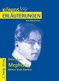 Mephisto. Roman einer Karriere von Klaus Mann. Textanalyse und Interpretation. (eBook, PDF)