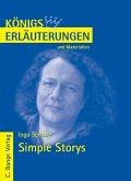 Simple Storys von Ingo Schulze. Textanalyse und Interpretation. (eBook, PDF)
