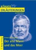 Der alte Mann und das Meer - The Old Man and the Sea von Ernest Hemingway. Textanalyse und Interpretation. (eBook, PDF)