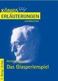 Das Glasperlenspiel von Hermann Hesse. Textanalyse und Interpretation. (eBook, PDF)