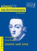 Leonce und Lena von Georg Büchner. Textanalyse und Interpretation. (eBook, PDF)