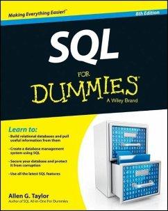 SQL For Dummies (eBook, ePUB) - Taylor, Allen G.
