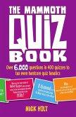 The Mammoth Quiz Book (eBook, ePUB)