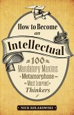 How to Become an Intellectual (eBook, ePUB)