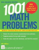 1,001 Math Problems (eBook, ePUB)